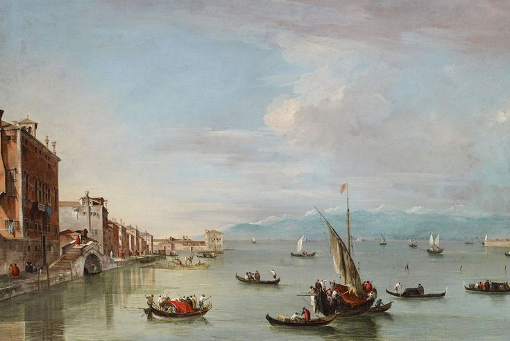 "Ashmolean acquires Old Master painting: ""Venice: the Fondamenta Nuove"" by Francesco Guardi. 1/22/14"