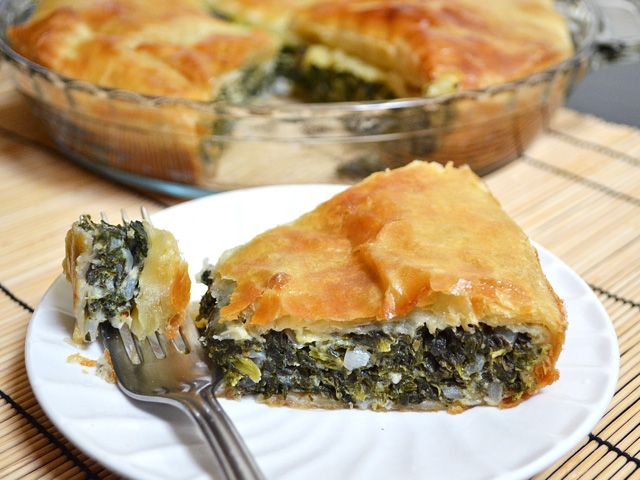 Easy Spinach Pie