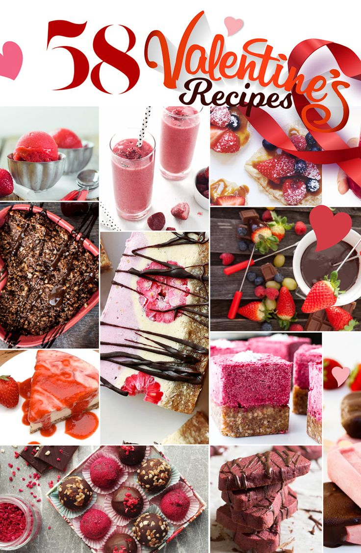 58 Valentines Recipes to SPARK YOUR HEART!!!!!