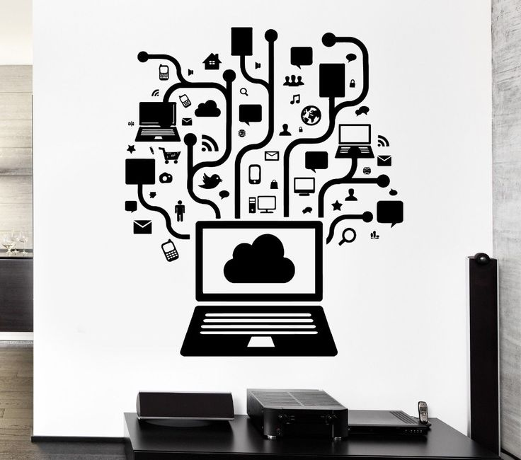 Best Office Design Images On Pinterest Office Designs Vinyls - Car sticker designripped torn metal design with evil eye monster motif external