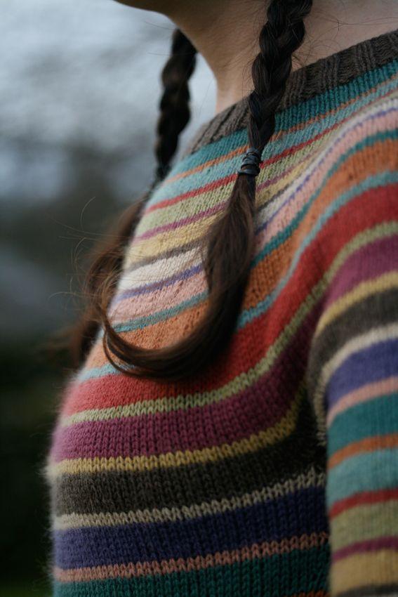 Milano - needled, an adaptation from a Carol Sunday kit. Round yoke. Lovely