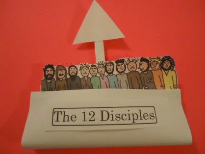 The 12 disciples Crafts: Disciples Lo 12, Boats Crafts, Church 12 Discipl, 12 Disciples Lo, Boat Crafts, Bible Jesus, Discipl Crafts, Bible Crafts, Crafts Sundayschoolcrafts Net