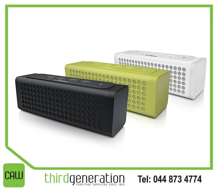 Turn indoor events into parties, outdoor events into festivals and office meetings into conferences with the versatile #Yamaha NX-P100 portable wireless speaker, available from #ThirdGenerationCAW. Visit us or contact us on 044 873 4774.