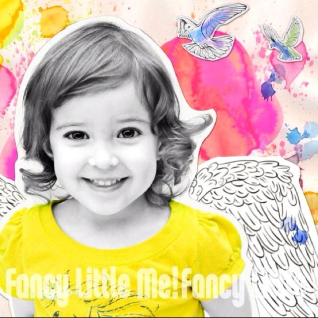 Little Miss Sunshine - Angel Collage