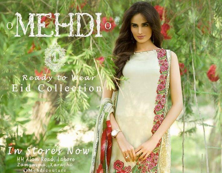 Mehdi Ready to Wear Designer Eid Collection 2015 http://clothingpk.blogspot.com/2015/07/mehdi-ready-to-wear-designer-eid-collection.html
