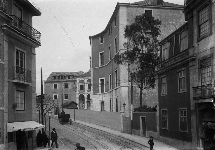 Cadeia do Limoeiro, 1911, foto de Joshua Benoliel,