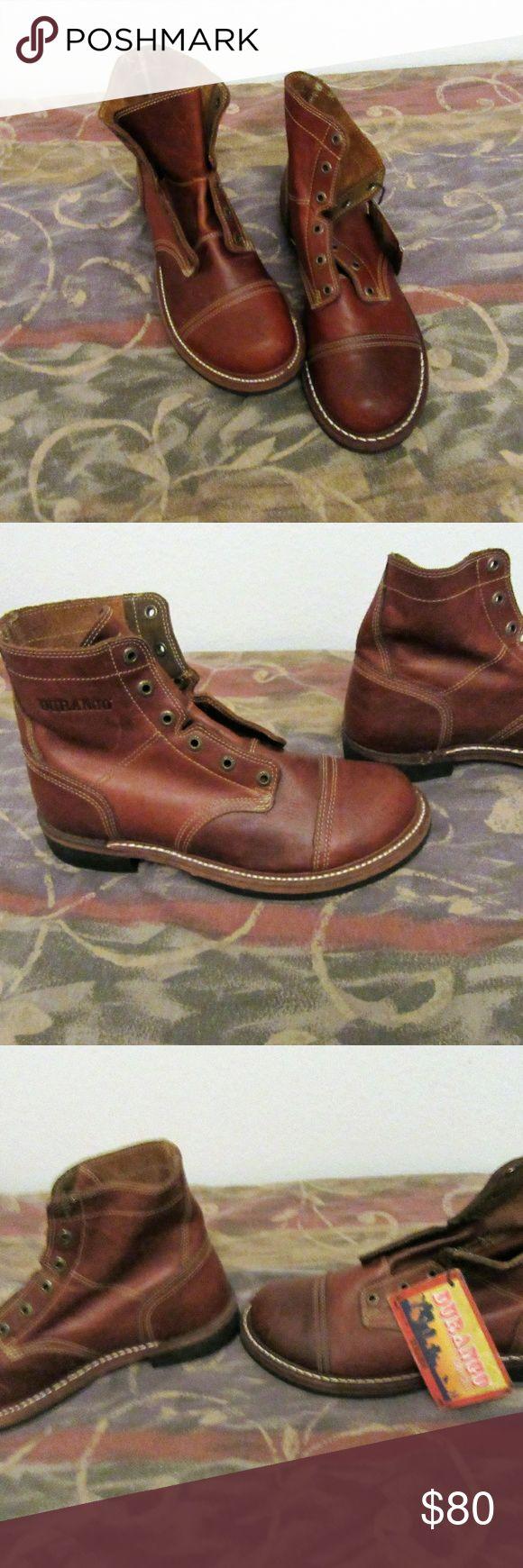 mens durango NWOB ankle boots vibram sole 10 M excellent shape  mens durango NWOB ankle boots vibram sole sample boots 10 M Durango Shoes Boots