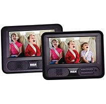 "RCA 7"" Dual Screen Portable DVD Player"
