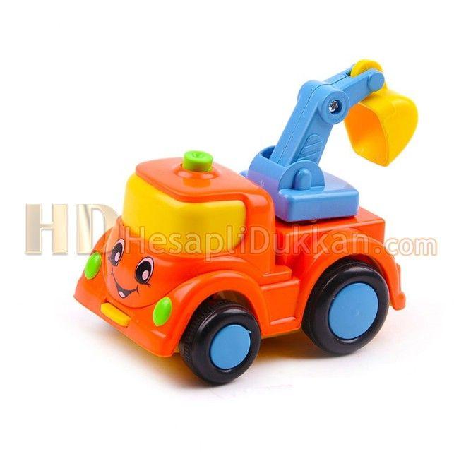 Bebek oyuncakları için renkli kırılmaz arabalar