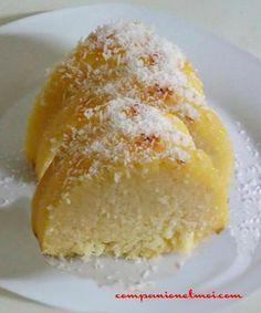Gâteau magique à la noix de coco