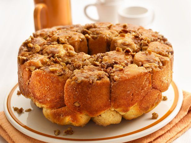 Hosting a crowd for brunch? This sticky cinnamon- and nut-filled loaf, served warm from the oven, is sure to be a hit.