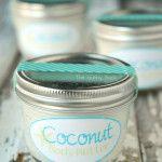 Coconut Body Butter Recipe ~ A Gift In A Jar