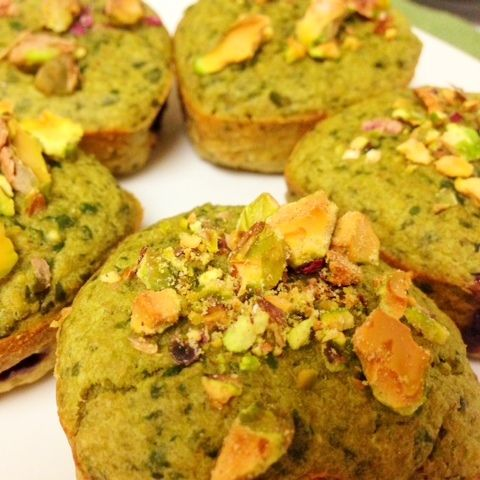 Green Muffins Featured