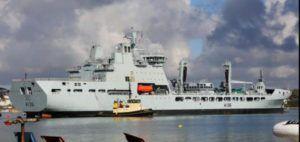 U.Ok. begins customizing Tide-class tanker ships