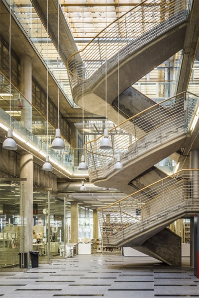 CiNBA Library, Katowice, Poland. HS99