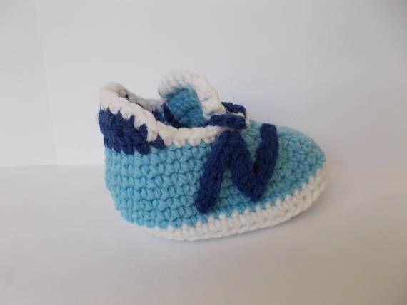 Crochet Baby Shoes baby nike New Balance 490v3 Baby