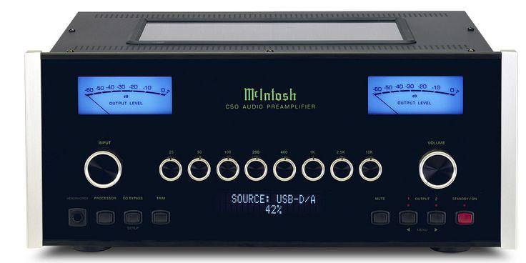 Pré-amplificateur Mc Intosh C50 : À la pointe de la perfection. #EasyLounge #preamplifier #mcintosh