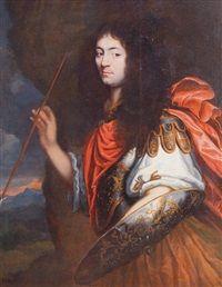Portrait de Monsieur, frère du roi by Louis Ferdinand Elle the Elder