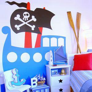 pirate bedroom - mymunchkinhome.com