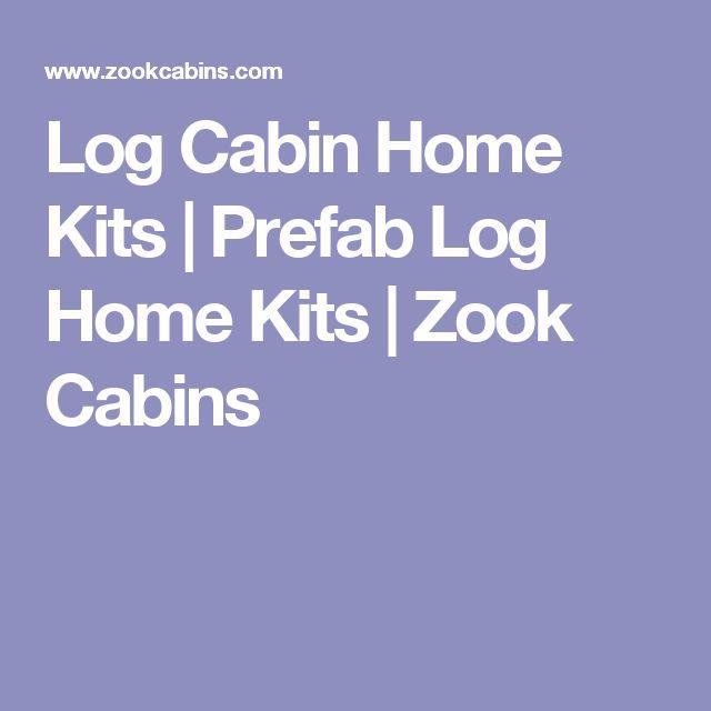 Log Cabin Home Kits | Prefab Log Home Kits | Zook Cabins