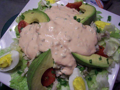 Crab Louie Salad - so good!