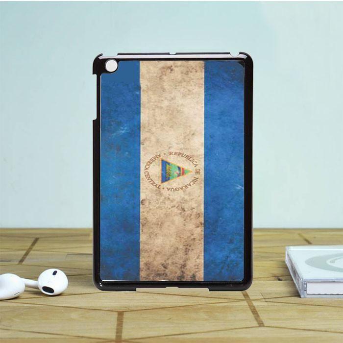 Nicaragua Flag Rough iPad Mini 2 Case Dewantary