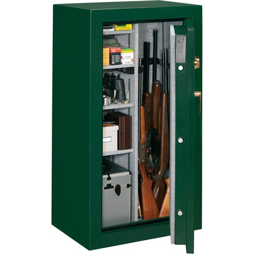 Stack-On 24 Gun Fire Resistant Security Safe with Combination Lock FS-24-MG-C Hunter Green