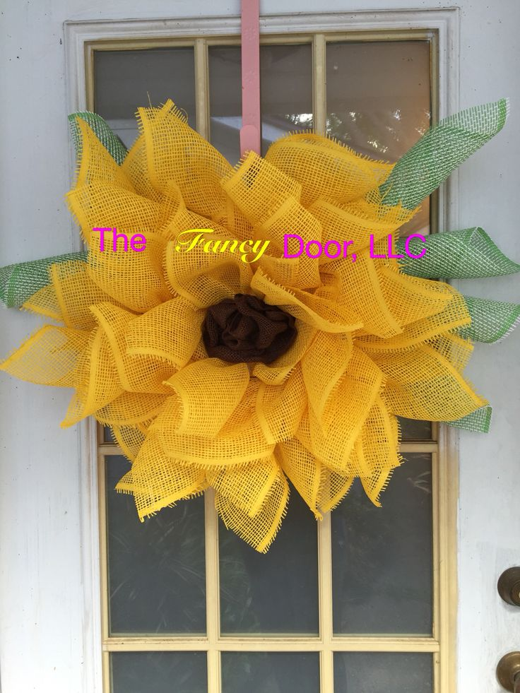 The Fancy Doors Version Of Nicole D Creations Sunflower