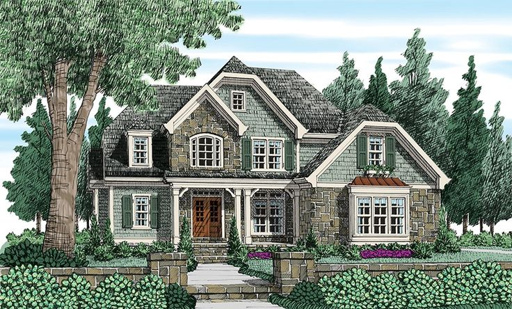 ePlans English Cottage House Plan Lovely