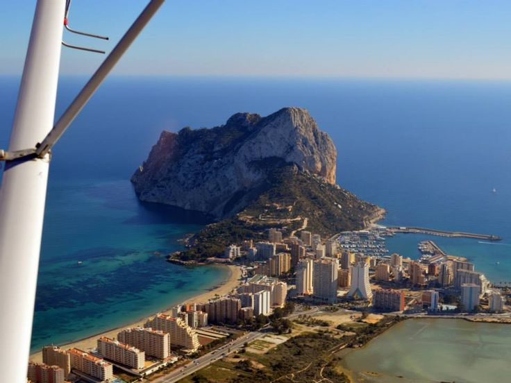 The mighty Penon Ifach from the sky. Truly a natural wonder. www.wonderful-calpe.webs.com