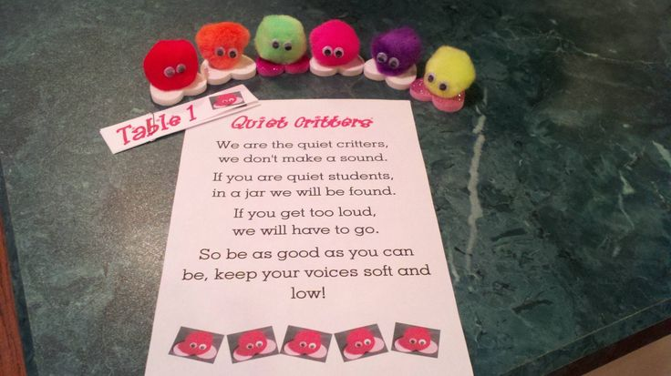 My version of Quiet Critters with a poem that I made up and jar labels!                                                                                                                                                                                 More