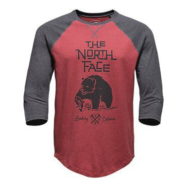 The North Face Men's 34 Grizzly Baseball Tee Shirt