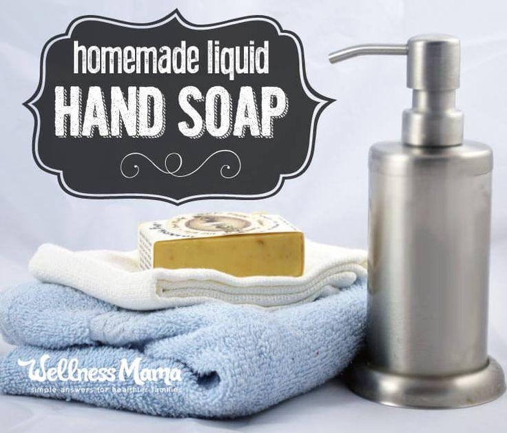 Homemade Liquid Hand Soap Liquid Hand Soap Recipe