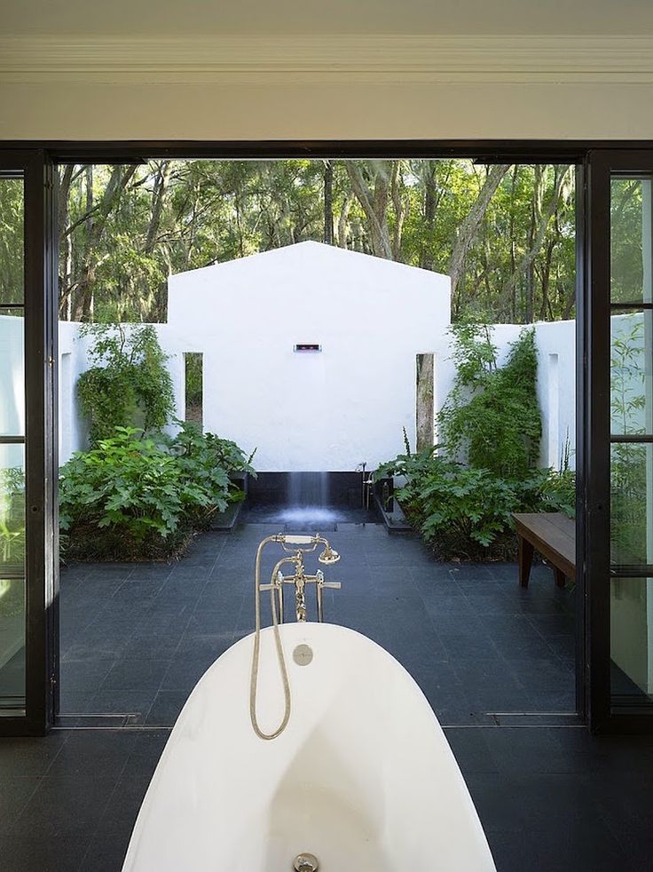Pic On  Breathtaking Outdoor Bathroom Designs That You Gonna Love
