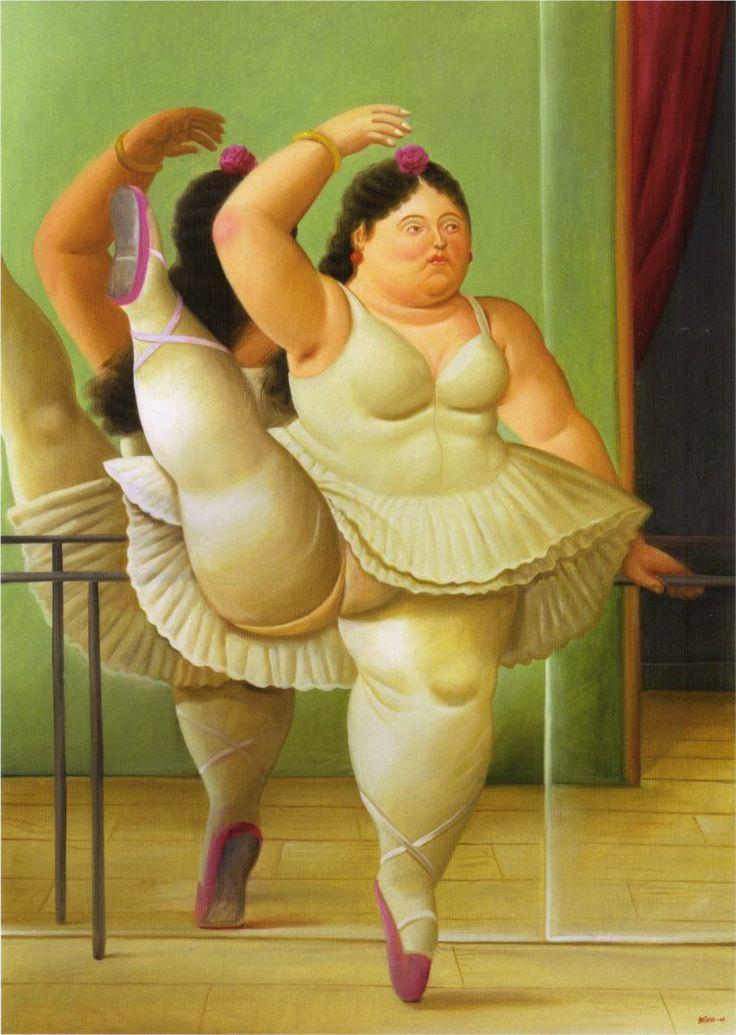 Super Dancers at the Bar - Fernando Botero - WikiPaintings.org  BQ83