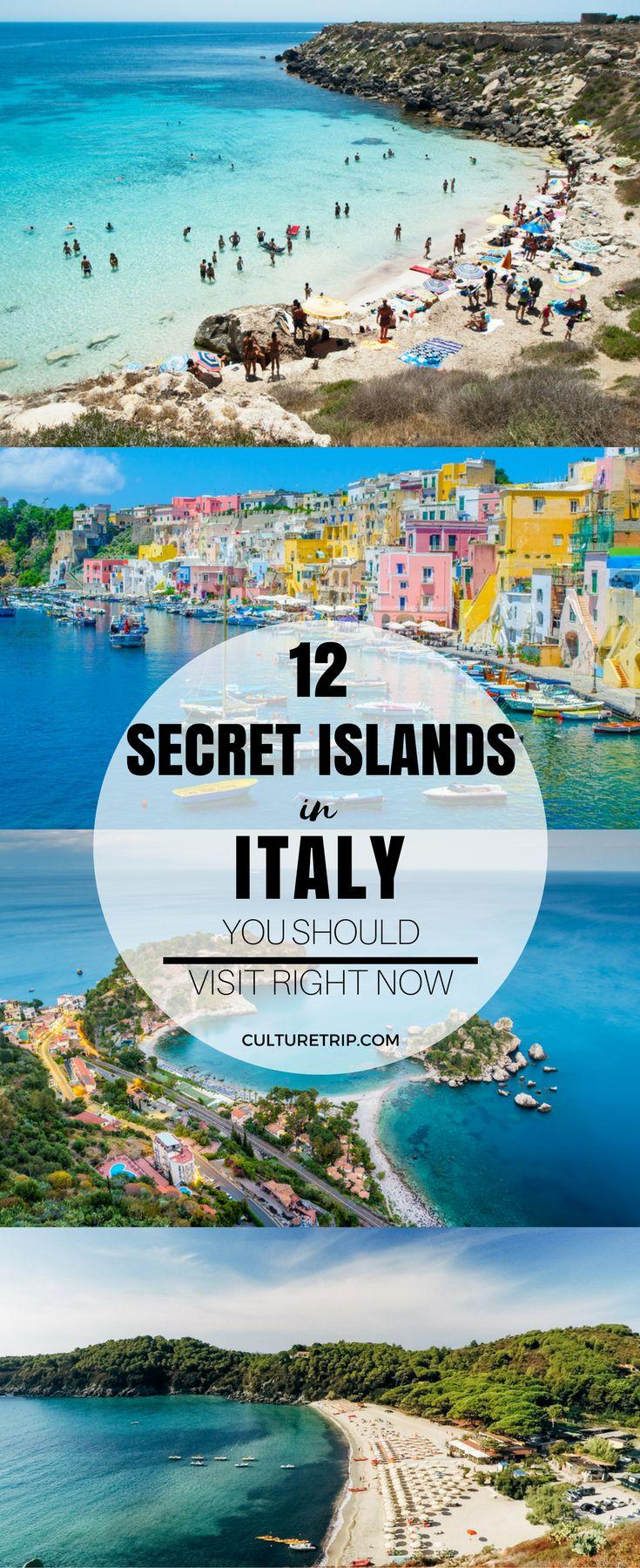 12 Secret Italian Islands You Should Visit|Pinterest: @theculturetrip