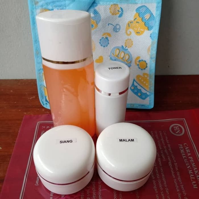 Cara Menggunakan Cream Hn Asli Original Pemutih Wajah Bpom 08568181663 Toner Sabun Kemasan