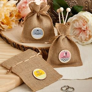 Best 25 Burlap Favor Bags Ideas On Pinterest