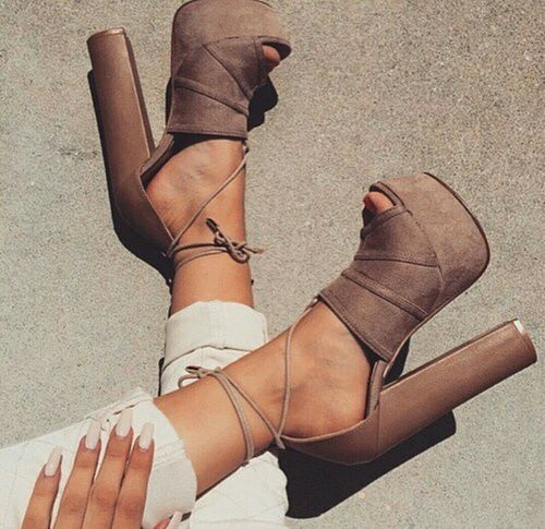 shoes, fashion, and heels