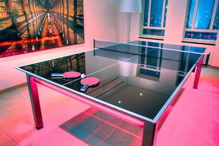 20 best images about ping pong party ideas on pinterest bazaars chalk board and tables - Space needed for a ping pong table ...