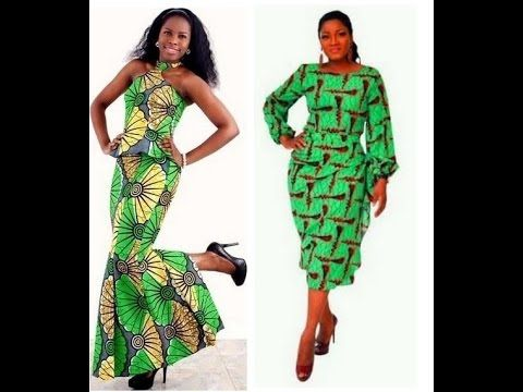 Unique Skirt and Blouse Styles for Women (African / Nigerian Occasion Fashion) - YouTube