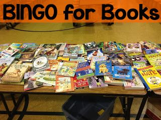 BINGO for Books: How to pull off an easy (but fun!) family night at school