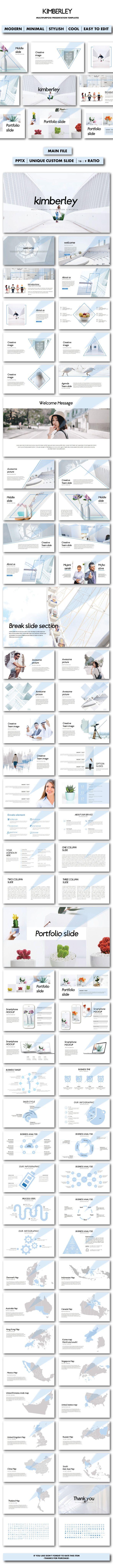 Kimberley Multipurpose Templates - PowerPoint Templates Presentation Templates