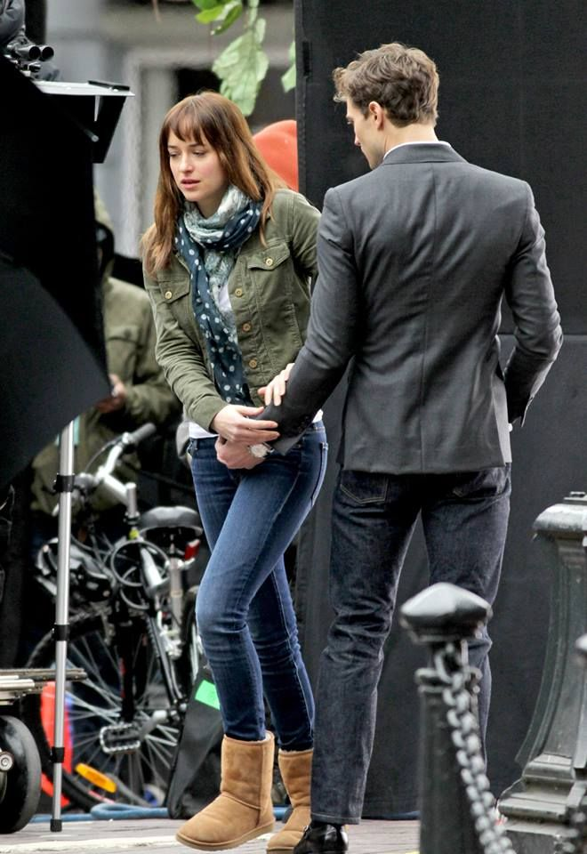 Christian Grey & Anastasia Steele FB page
