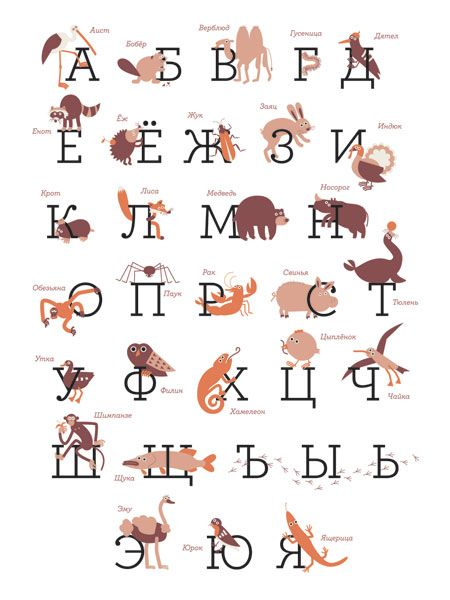 alphabets 14 high quality posters of russian alphabet created by russian illustrators and designers