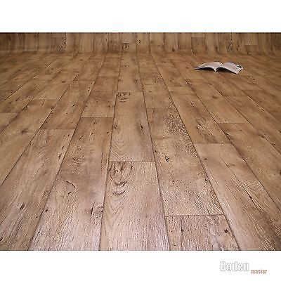 PVC Bodenbelag Holz Rustikal Natur - Breite 4 Meter