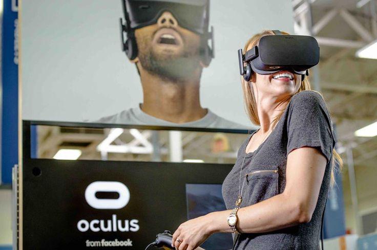 Réalité virtuelle : L'Oculus Rift sera en vente à la Fnac et sur Amazon en…