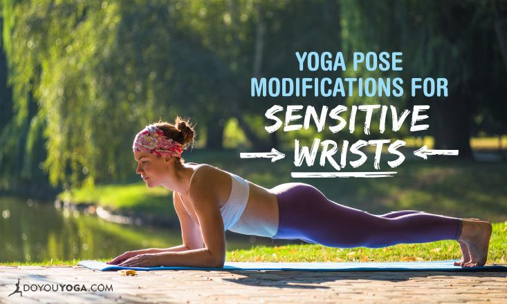 Wrists hurting when you do #yoga? Try these modifications! :) http://www.doyouyoga.com/5-yoga-pose-modifications-for-sensitive-wrists-10082/