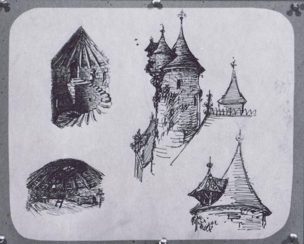 Disney's Cinderella Concept Art