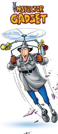 Inspector Gadget...you know you're humming the theme song right now=)